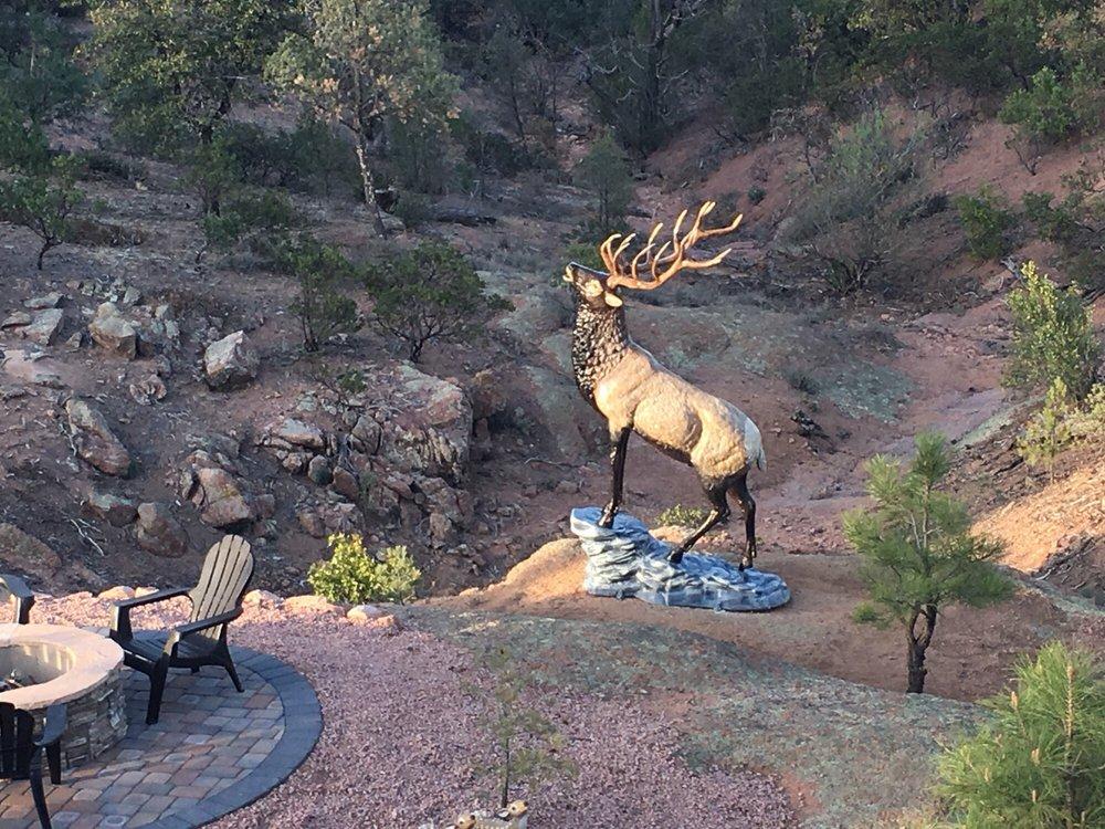 MJ Utah Aluminum Sculptures: 2824 Highway 260, Heber-Overgaard, AZ
