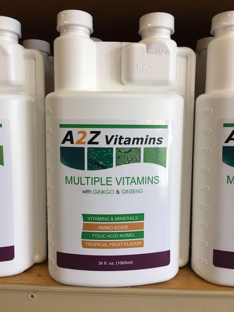 A 2 Z Vitamins: 1259 S Diamond Bar Blvd, Diamond Bar, CA