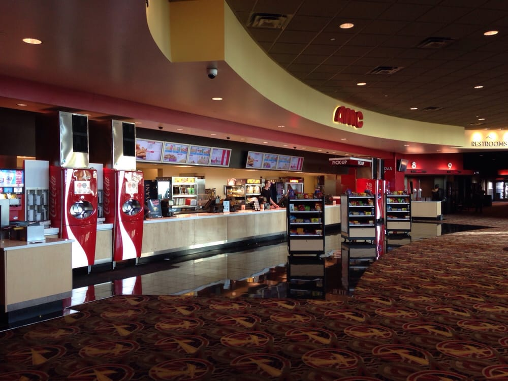 amc lobby amp concession stand castleton square mall yelp