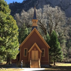 Photo Of Yosemite Valley Chapel National Park Ca United States