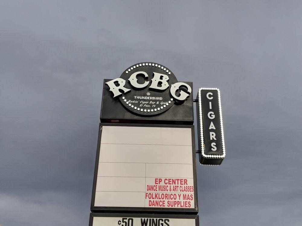 Rockin' Cigar Bar & Grill: 6404 N Mesa St, El Paso, TX