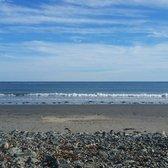 Photo Of York Harbor Beach Me United States Crashing Waves On