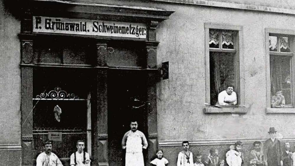 P gr newald metzgerei fleischerei bieberer str 100 for Metzgerei offenbach