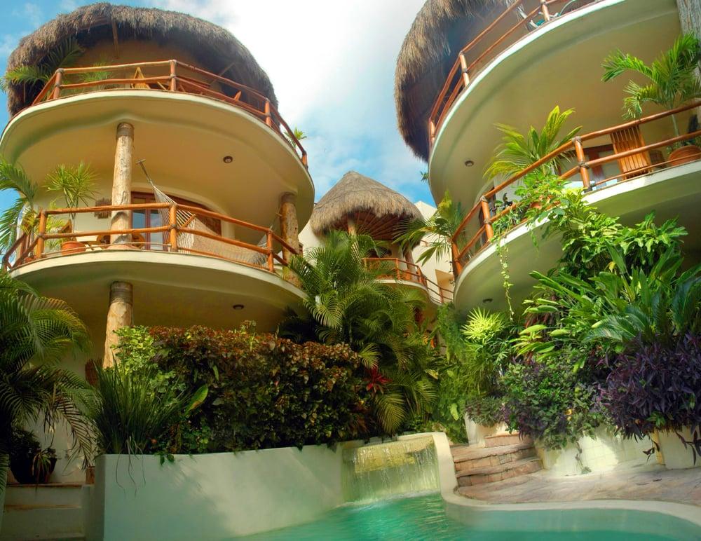 Villas sacb condo hoteles 1 avenida nte s n canc n for Villas kabah cancun ubicacion