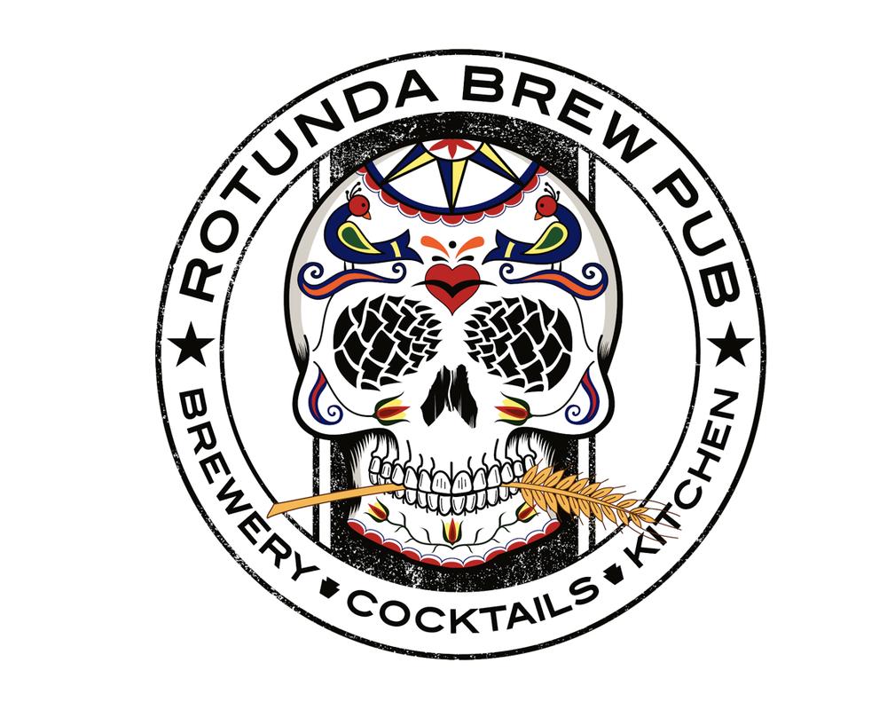 Food from Rotunda Brew Pub