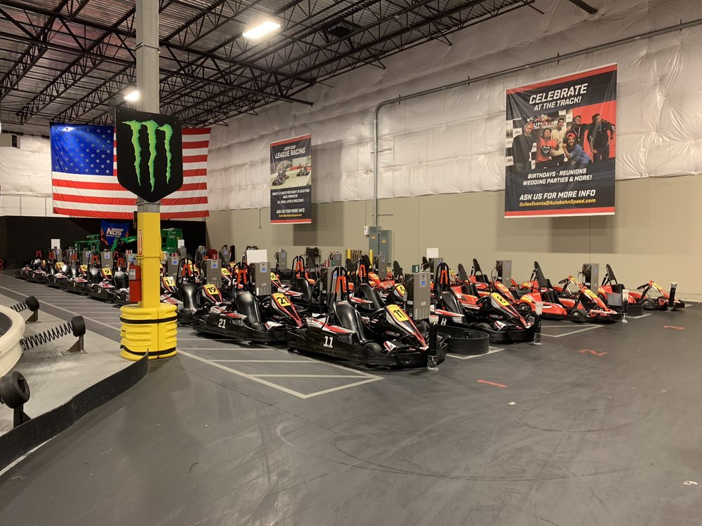 Autobahn Indoor Speedway & Events: 45448 E Severn Way, Sterling, VA