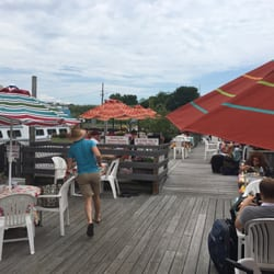 Photo Of Mallory Square Restaurant Sayville Ny United States Outside Seating