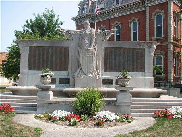 Peace Monument: 112 S 2nd St, Decatur, IN