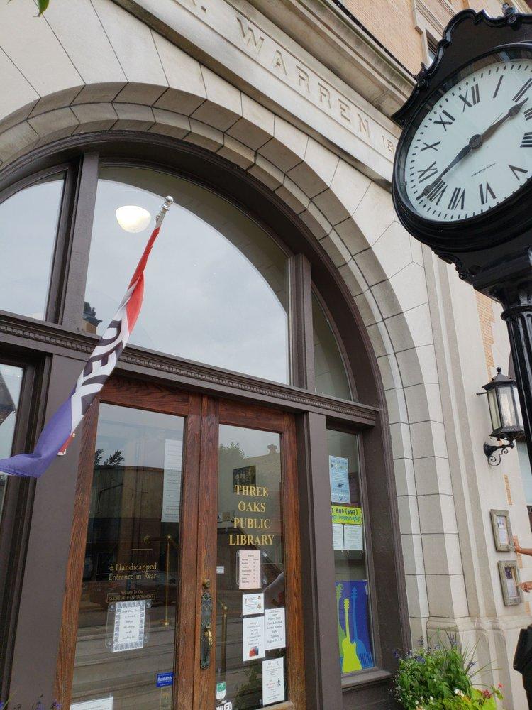 Three Oaks Township Library and Museum: 3 N Elm St, Three Oaks, MI