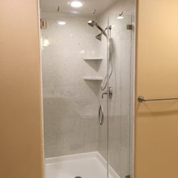 Beautiful Frameless Shower Door Magnetic Latch