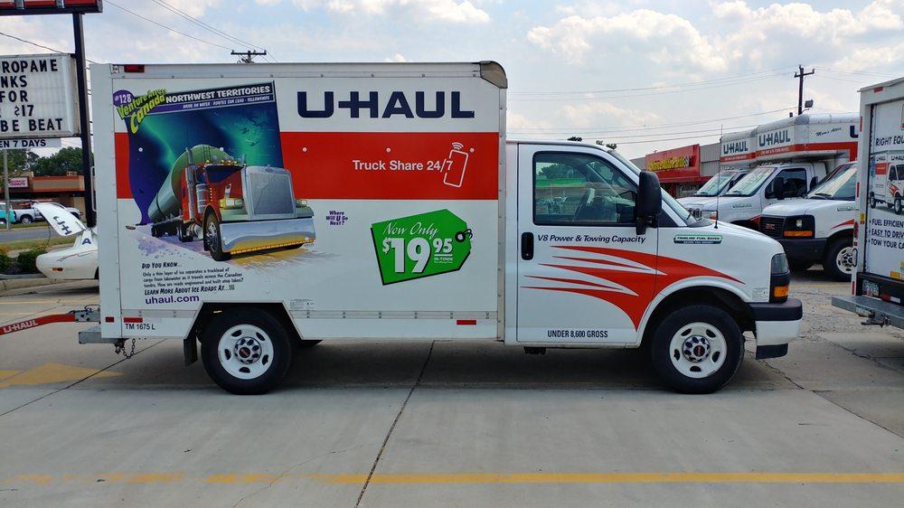 U-Haul Trailer Hitch Super Center at South Blvd