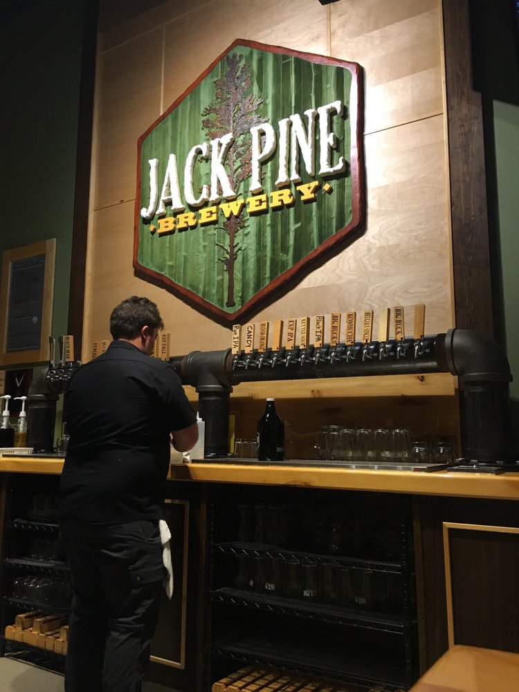 Jack Pine Brewery: 15593 Edgewood Dr, Baxter, MN