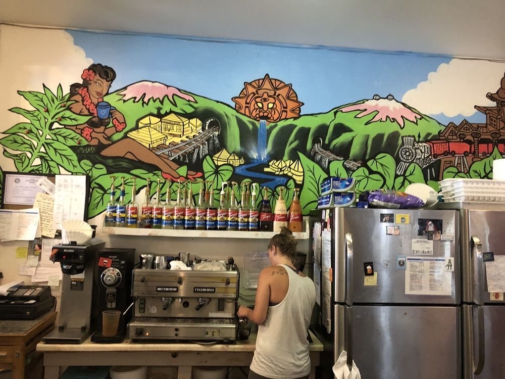 Hilo Sharks Coffee: 28-1672 Old Mamalahoa Hwy, Honomu, HI