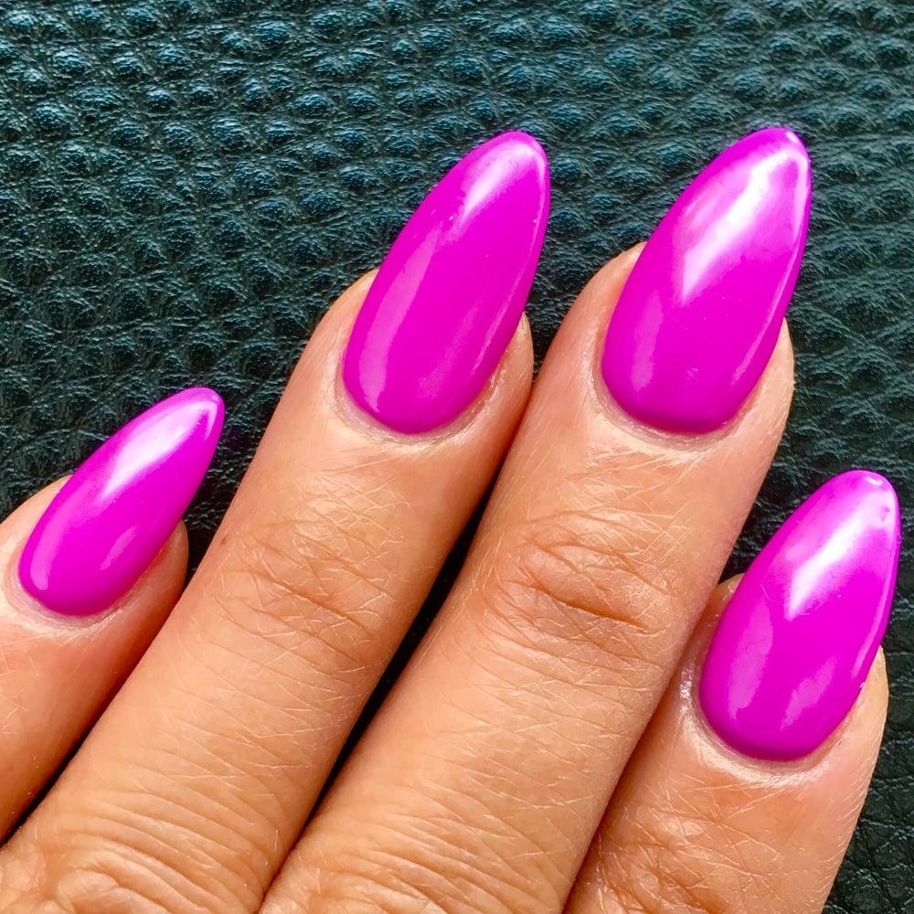 Springtime color (#516) gel on stilettos by Don. 20160304 - Yelp