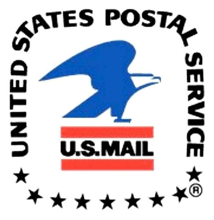 Airborne united states postal service and
