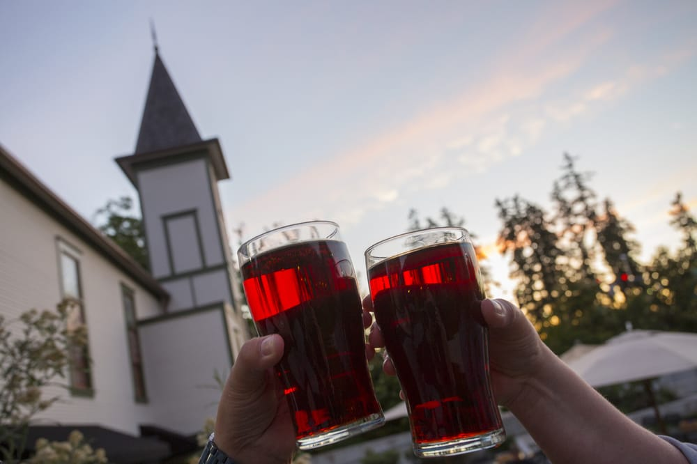 Wilsonville Old Church & Pub: 30340 SW Boones Ferry Rd., Wilsonville, OR