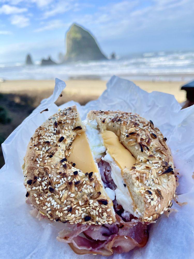 Seashore Bagel Deli & Espresso: 1188 S Hemlock St, Cannon Beach, OR