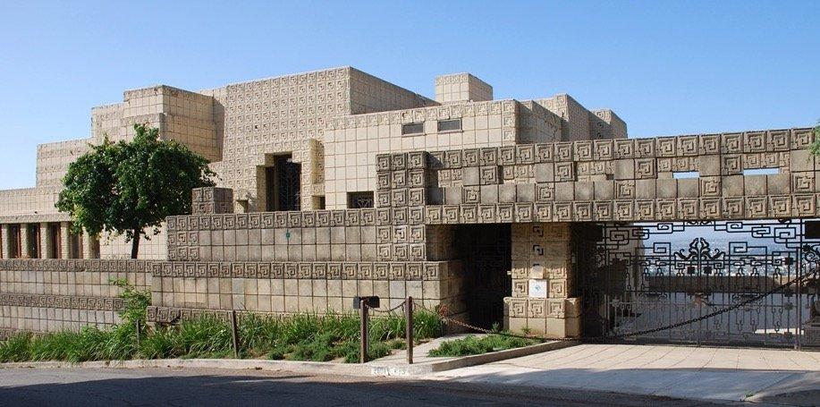 Frank Lloyd Wright's Ennis House