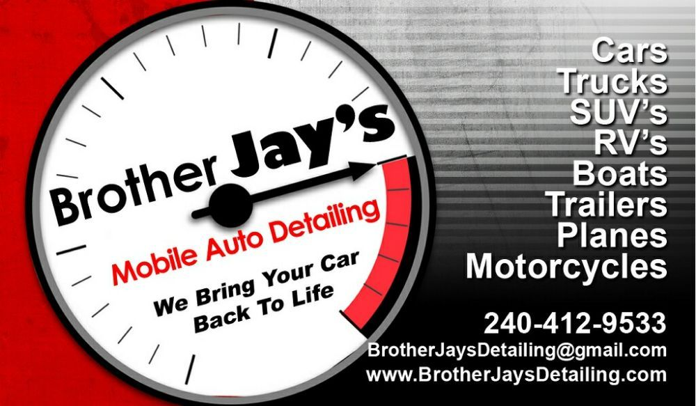 Brother Jay's Auto Detailing: Indian Head, MD