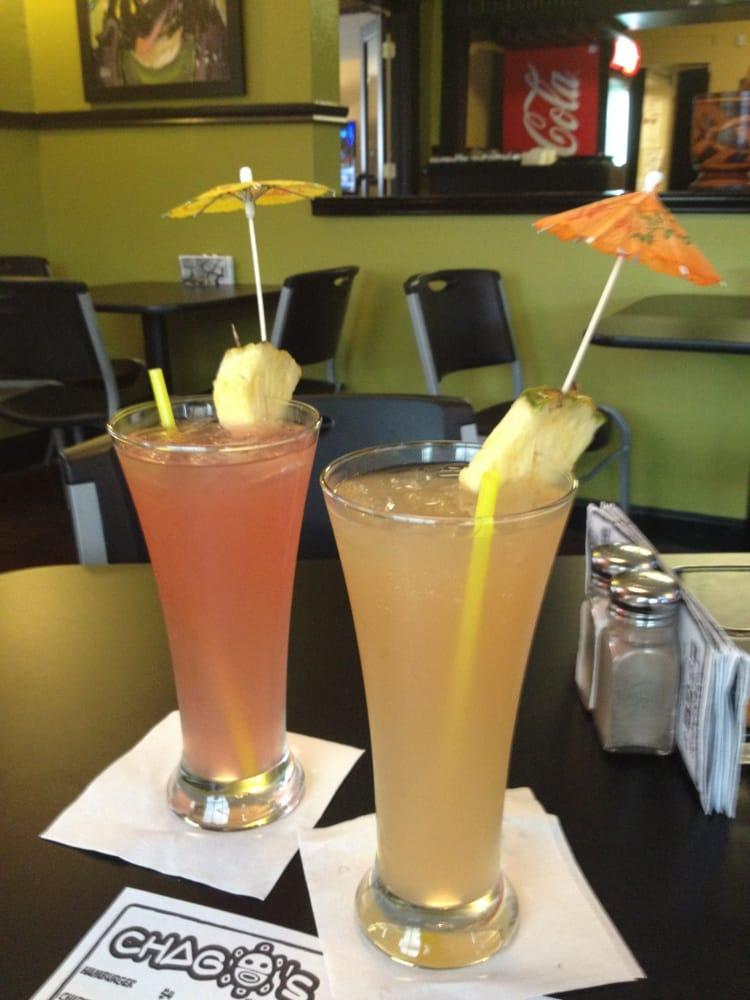 Agua de sandia y de tamarindo perfect for this super hot for Austin s caribbean cuisine