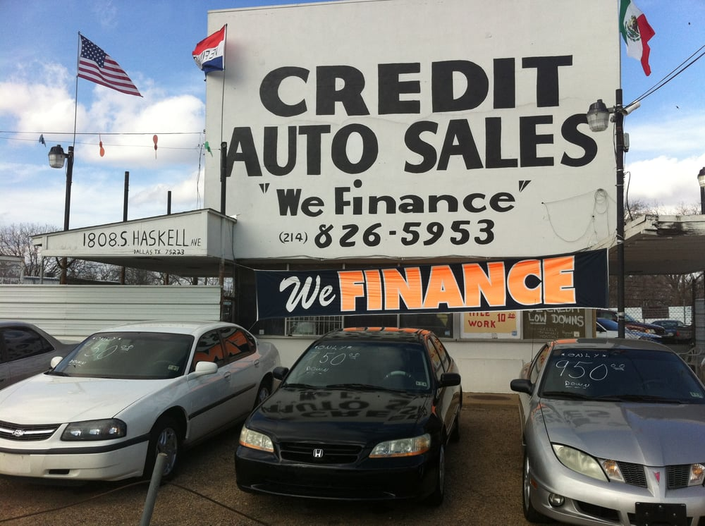 Credit Auto Sales - Get Quote - Car Dealers - 1808 S Haskell Ave ...