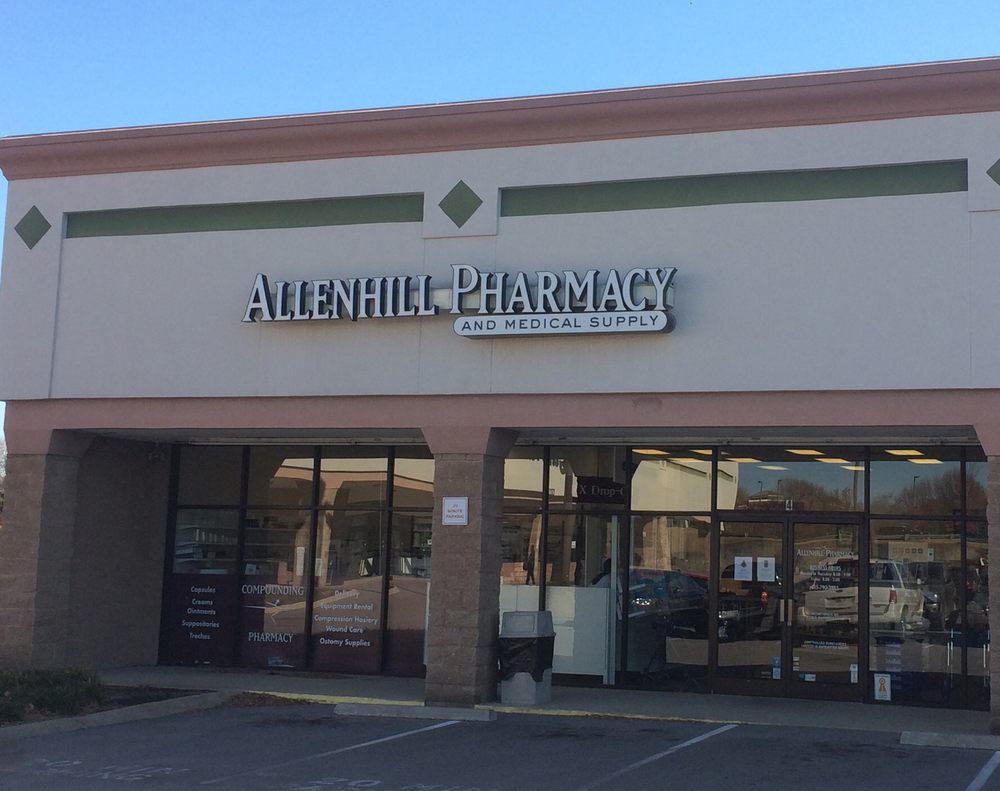 Allenhill Pharmacy and Medical Supply: 4096 Carothers Pkwy, Franklin, TN