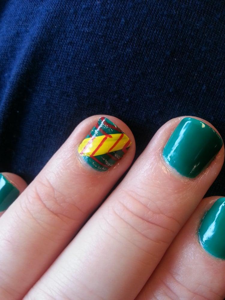 My Lovely Rasta Nail Design From Jamie Yelp