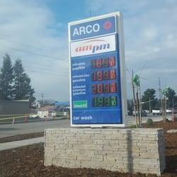 Arco Am Pm Gas Stations 518 S Lovers Ln Visalia Ca Yelp
