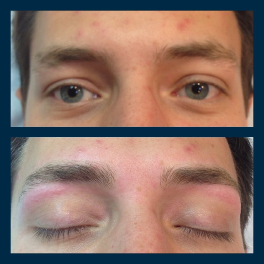 Male Eyebrow Wax Who Says A Man Cant Look Manly After A Brow Wax