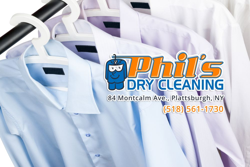 Phil's Dry Cleaning: 84 Montcalm Ave, Plattsburgh, NY