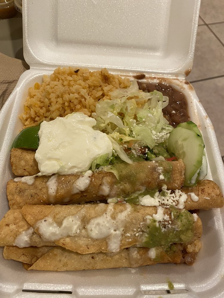Food from King Huarache