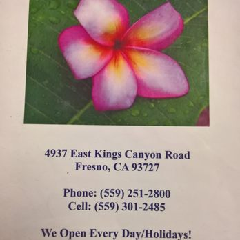 Best Thai Restaurant In Fresno Ca