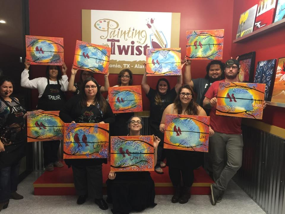 Photos for painting with a twist yelp for Painting with a twist san diego
