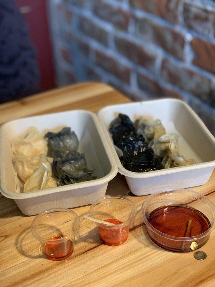 Houtskool Dumplings: 1231 Main St, St. Helena, CA