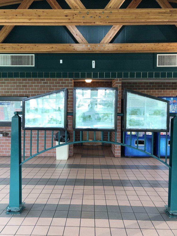 Hailstone Creek Rest Area: Mp 118, New Salem, ND