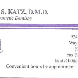 Katz karen s dmd general dentistry 924 ratzer rd wayne nj photo of katz karen s dmd wayne nj united states business card reheart Image collections