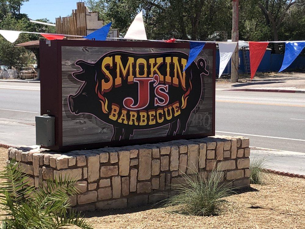 Smokin J's Barbeque: 107 Main St, Beatty, NV