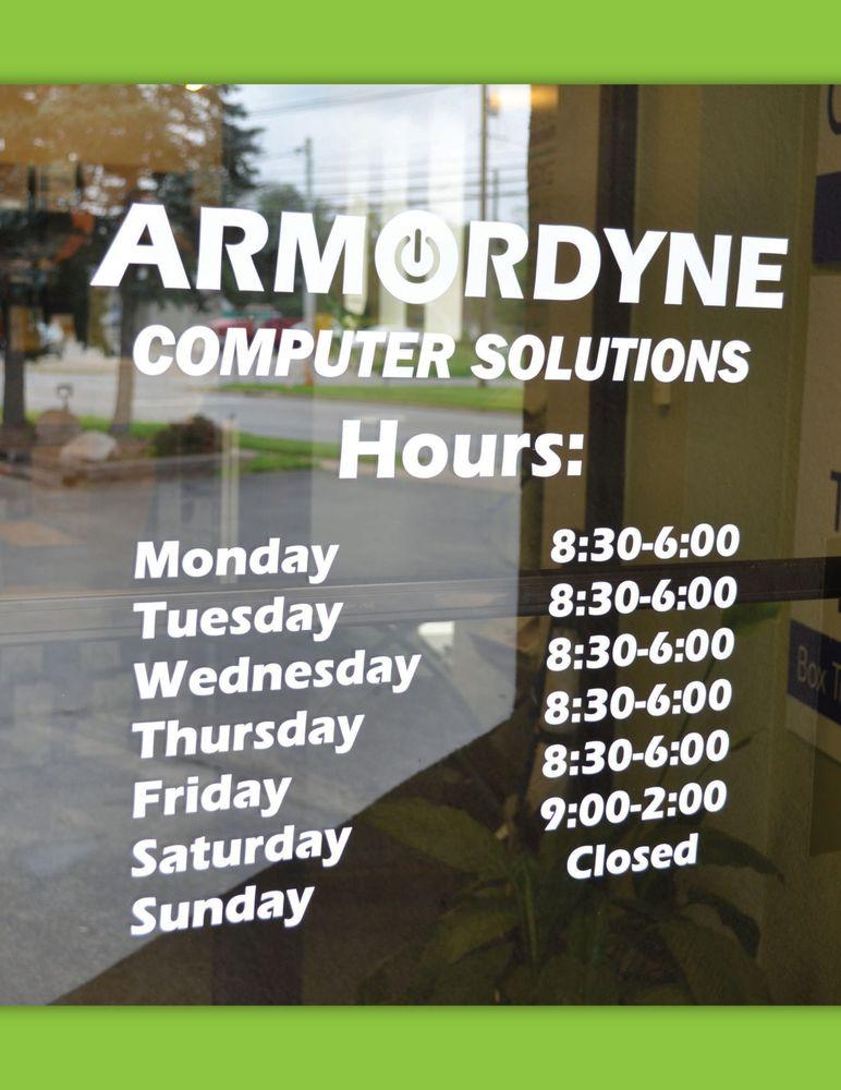 Armordyne Computer Solutions: 1011 E Main St, Ashland, OH