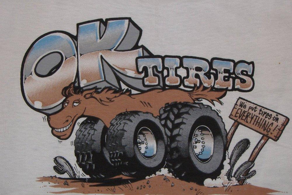 OK Tire Store: 5570 N Lark Ellen Ave, Azusa, CA