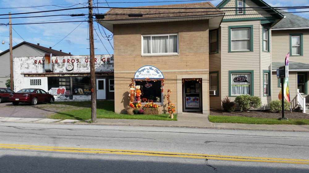 Forget Me Not Floral and Gift Shoppe: 109 S Main St, Davidsville, PA