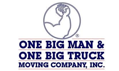 One Big Man and One Big Truck