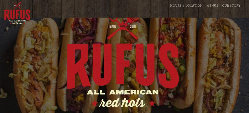 Rufus Red Hots: 600 Broadway St, Cape Girardeau, MO
