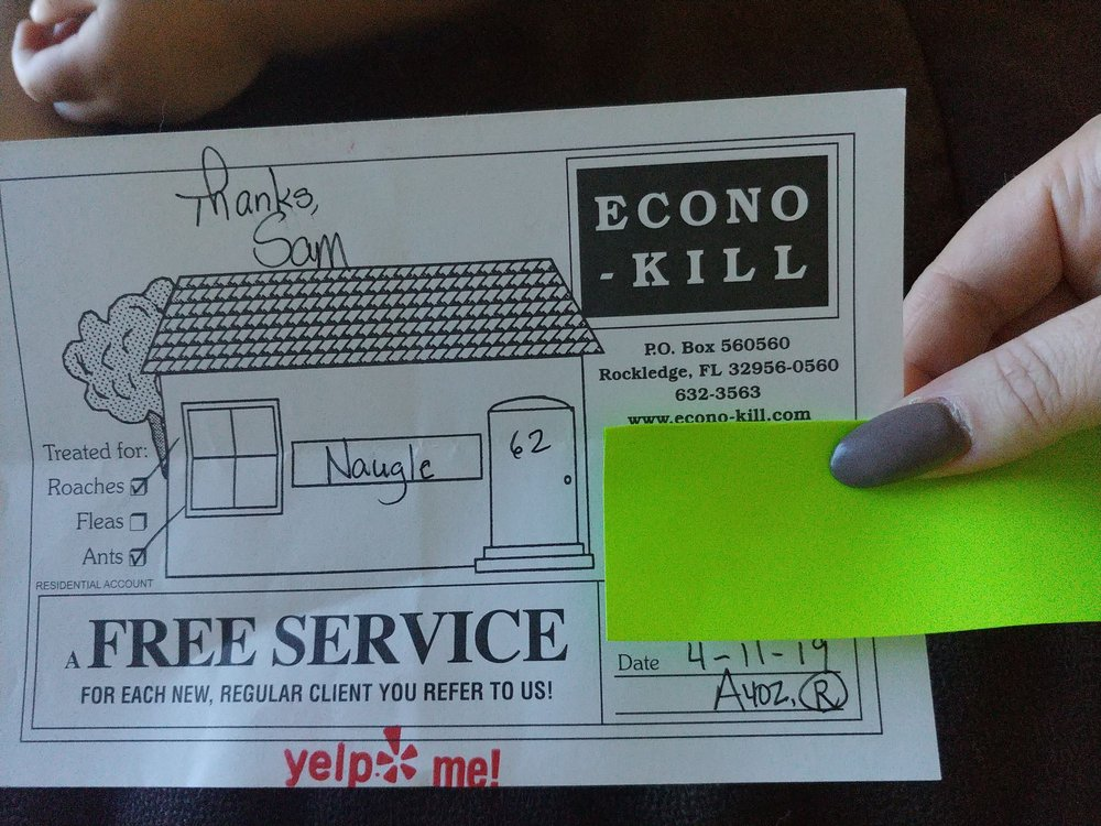 Econo-Kill: 1191 US Hwy 1, Rockledge, FL