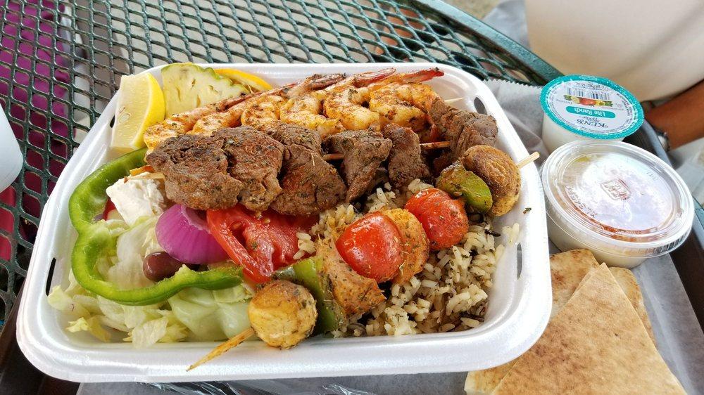 Food from Al's Deli & Grill