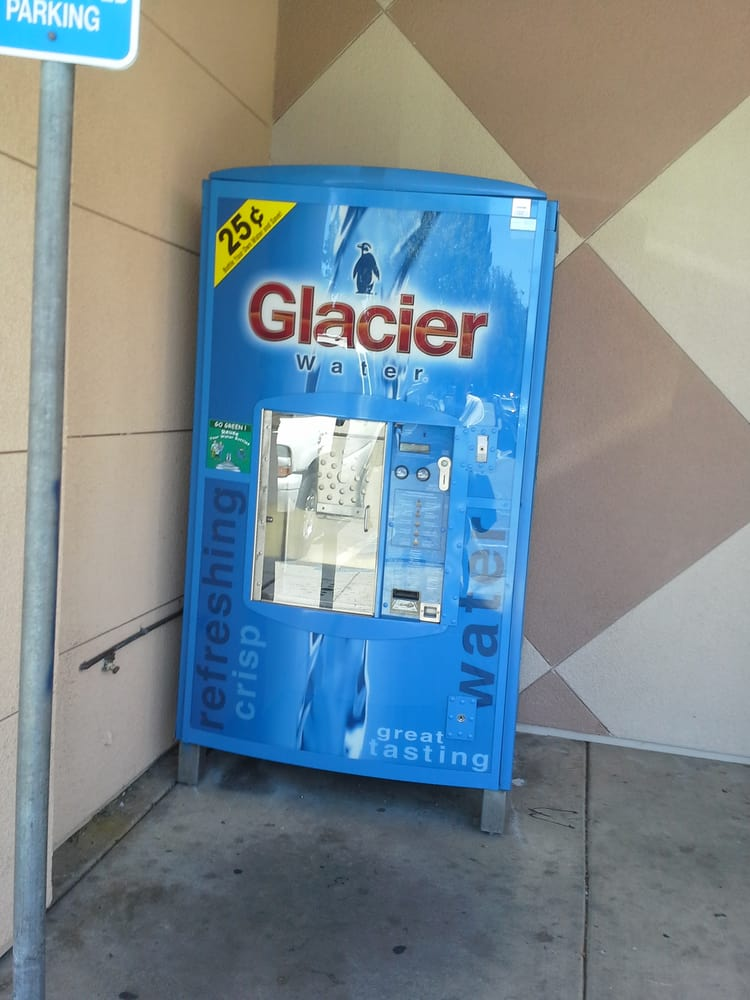 glacier water machine near me
