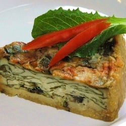 Photo Of Seed Santa Rosa Ca United States Live Spinach Mushroom Quiche