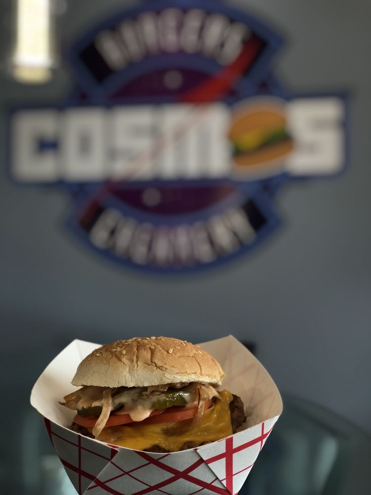 Cosmos Burgers & Creamery: 876-09 Connetquot Ave, Islip Terrace, NY