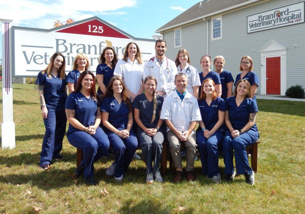 Branford Veterinary Hospital: 125 N Branford Rd, Branford, CT
