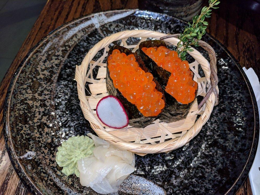 Food from Hakata Ramen & Sushi