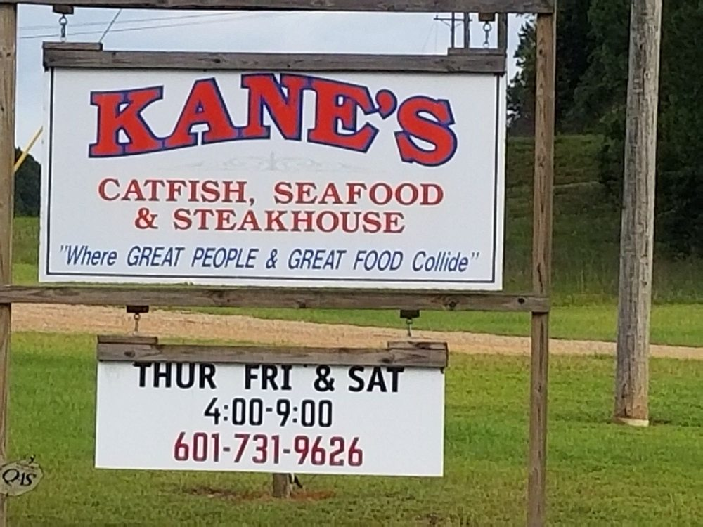 Kanes Catfish Seafood and Steakhouse: 3129 Highway 35 S, Foxworth, MS